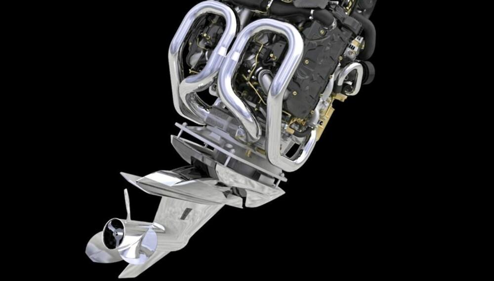 BRITISK MOTOR: Den 3-liters dieselmotoren er samme som du finner i blant annet Range Rover og Jaguar XF.