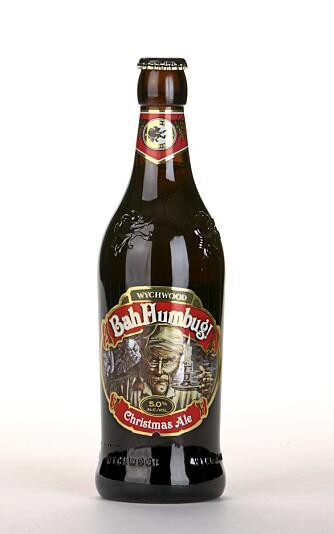 MANGLER KONSENTRASJON: Bah Humbug! Christmas Ale har en smak som følger opp duften, men her mangler det konsentrasjon.