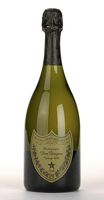 KOMPLEKS: Dom Perignon 200 brut er kompleks og flott. En av de beste champagnene i denne testen, men også testens dyreste. 999 kroner må du ut med for denne herligheten.