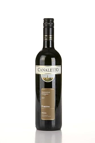 BEST: Canaletto Primitivo 2007.