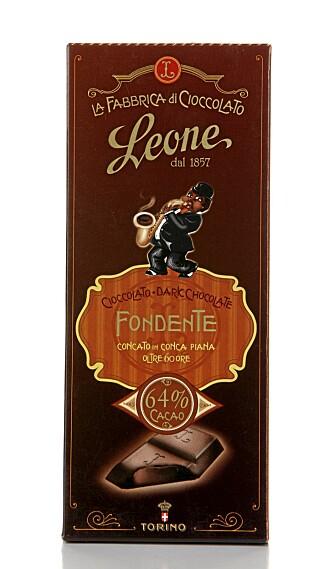 BISMAK: Sjokoladen fra leone smelter ikke på tungen og har i tillegg en liten bismak.