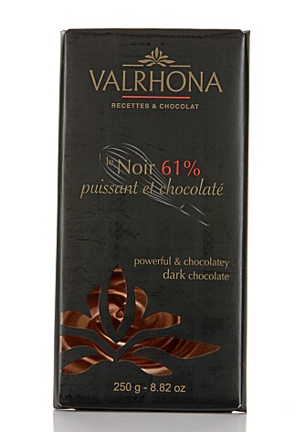 FET: Sjokoladen fra Valrhona er fet på smak.