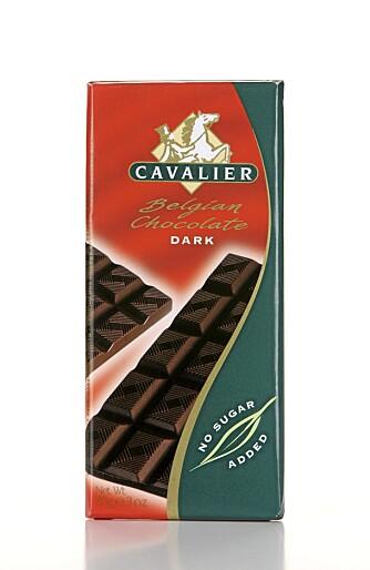 SMELTER IKKE: Sjokoladen fra Cavalier smelter ikke på tungen.