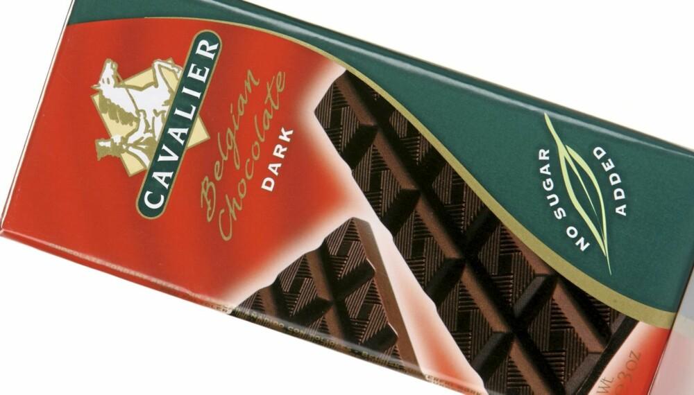 KVALMENDE: Cavalier Belgian Chocolate 55 prosent er en sjokolade som er noe kvalmende.