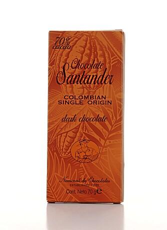 EGENKARAKTER: Sjokoladen fra Chocolate Santander er spesiell og har en egenkarakter.