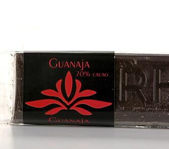 RIK: En sjokolade med rik og god smak av sjokolade.