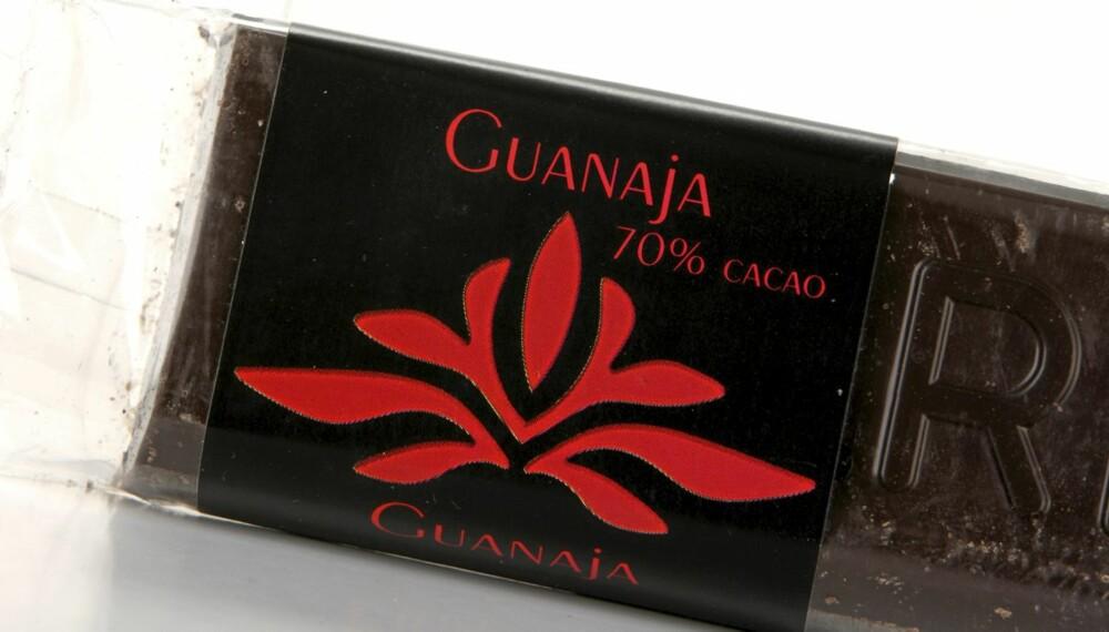 SØDMEFULL: Valrhona Guanaja 70 prosent er en sjokolade med fin og god sødme.