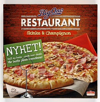 PIZZA: Klikk.no har testet 46 forskjellige frossenpizzaer.