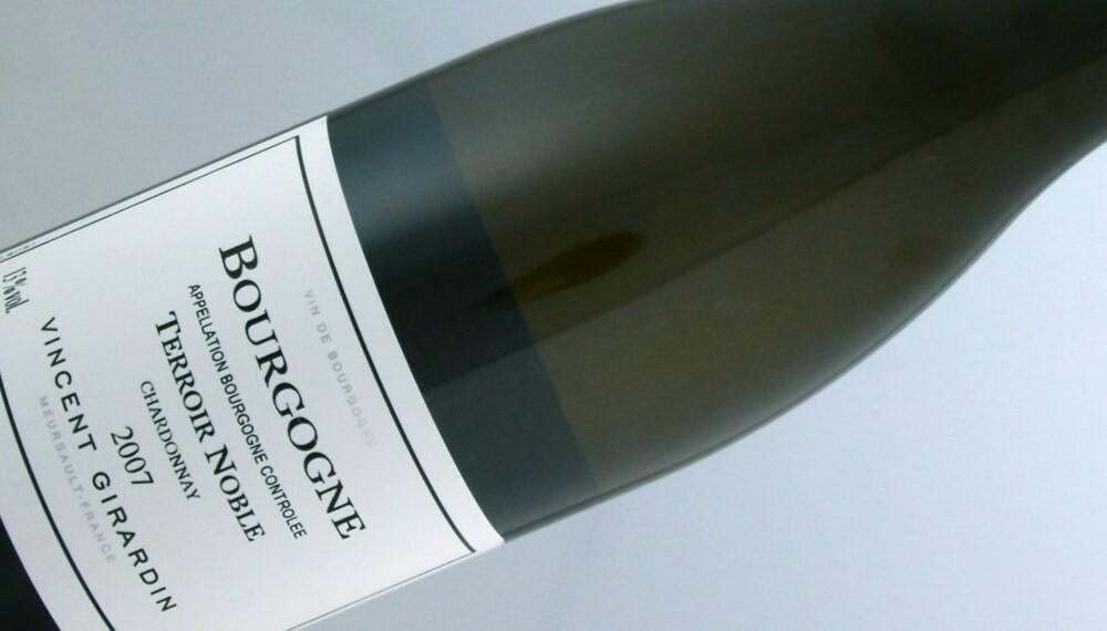 TIL SJØMAT: Girardin Bourgogne Chardonnay Terroir Noble er glimrende til rike retter av fisk og skalldyr.