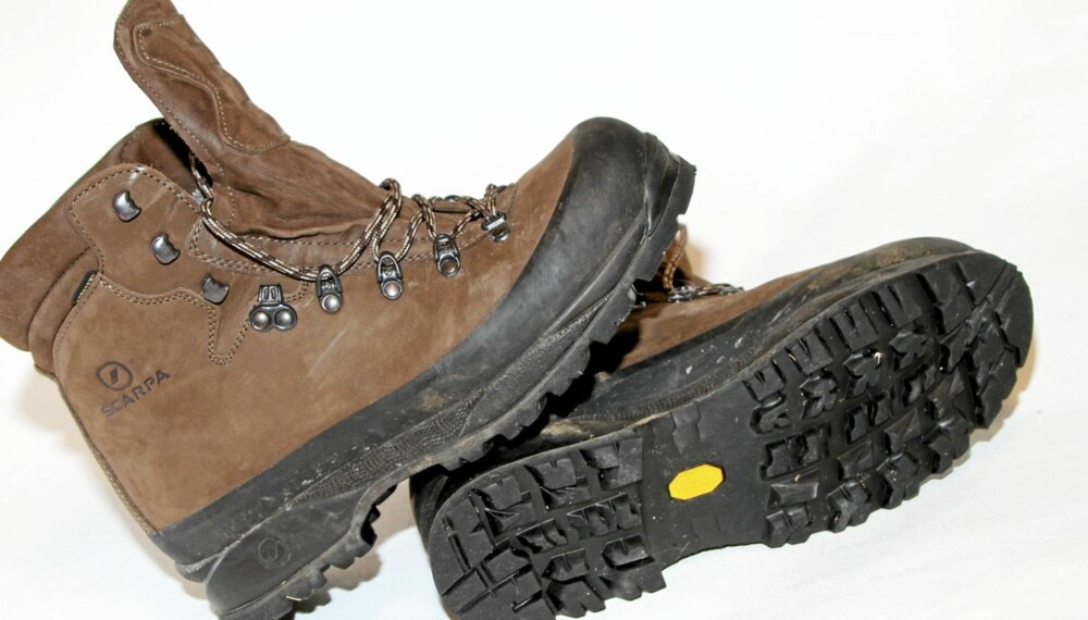 Test av fjellstøvler