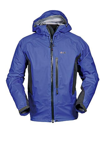 GLIMRENDE: Montane eVent Halo Stretch jacket.
