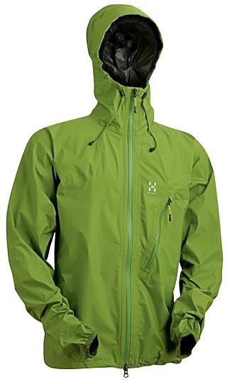 GOD LETTVEKTER: Hagløfs LIM Ozone jacket.