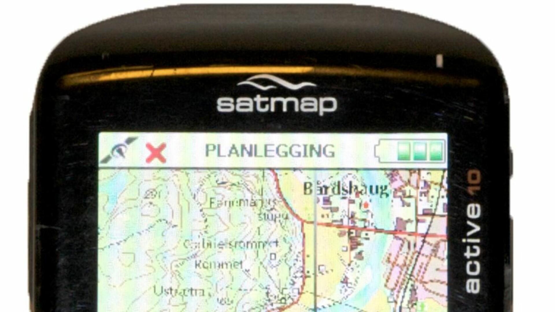 Test Av Gps Satmap Active 10 Tester