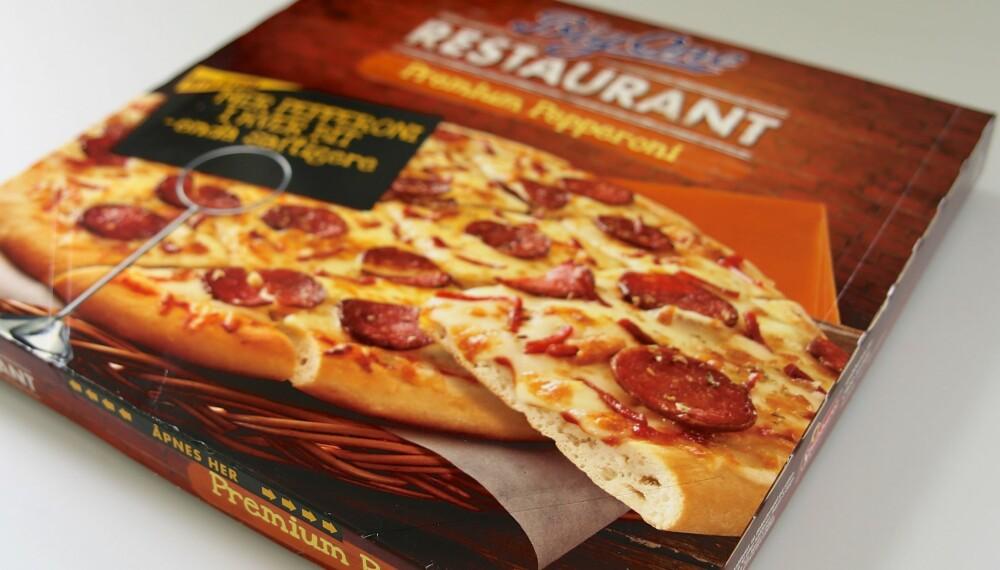 Test: Vi har testet frossenpizza