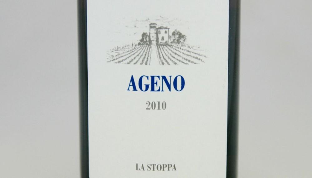 ORANSJEVIN: La Stoppa Ageno 2010.
