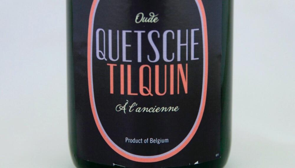 GOD SURØL: Tilquin Oude Quetsche.