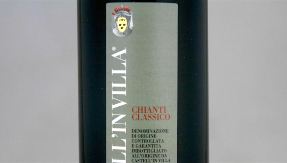 LAMMEVIN: Castell'in Villa Chianti Classico 2011.