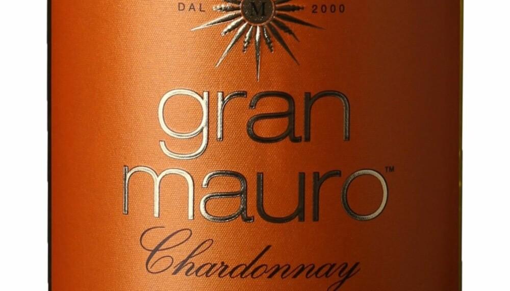 GOD VIN: Gran Mauro Chardonnay 2014.