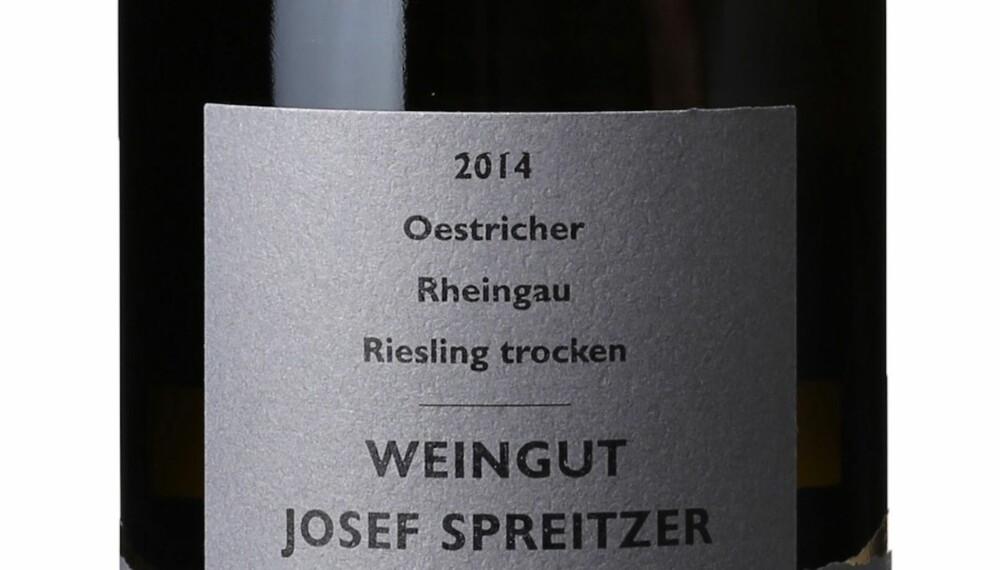 GOD VIN: Josef Spreitzer Oestrich Trocken 2014.