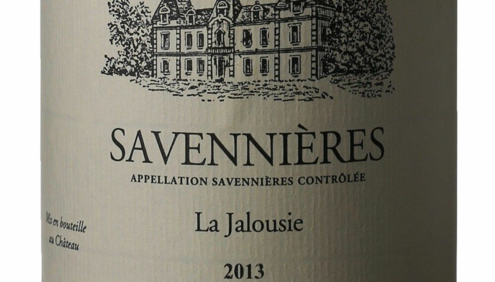 GOD VIN: Closel Jalousie Savennières 2013.