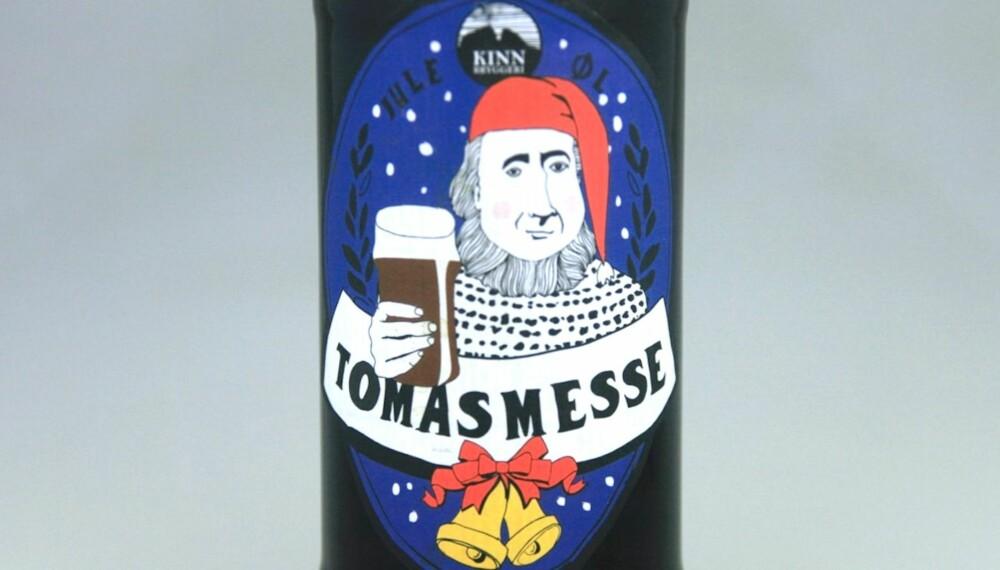 SØDMEFULLT ØL: Kinn Tomasmesse.