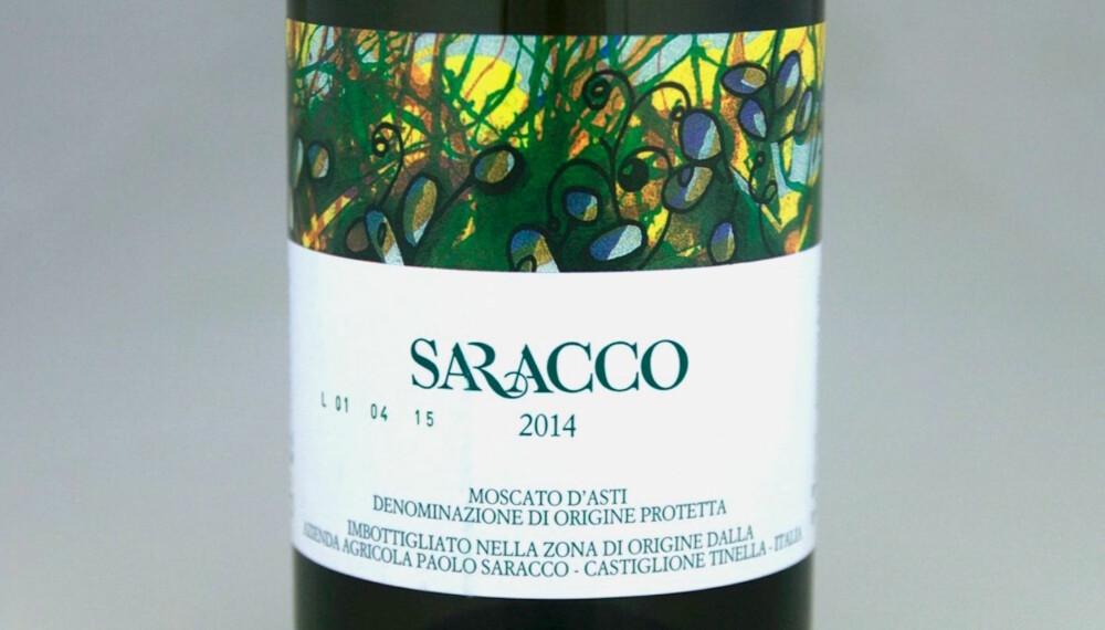 SØT OG GOD: Saracco Moscato d'Asti 2014.