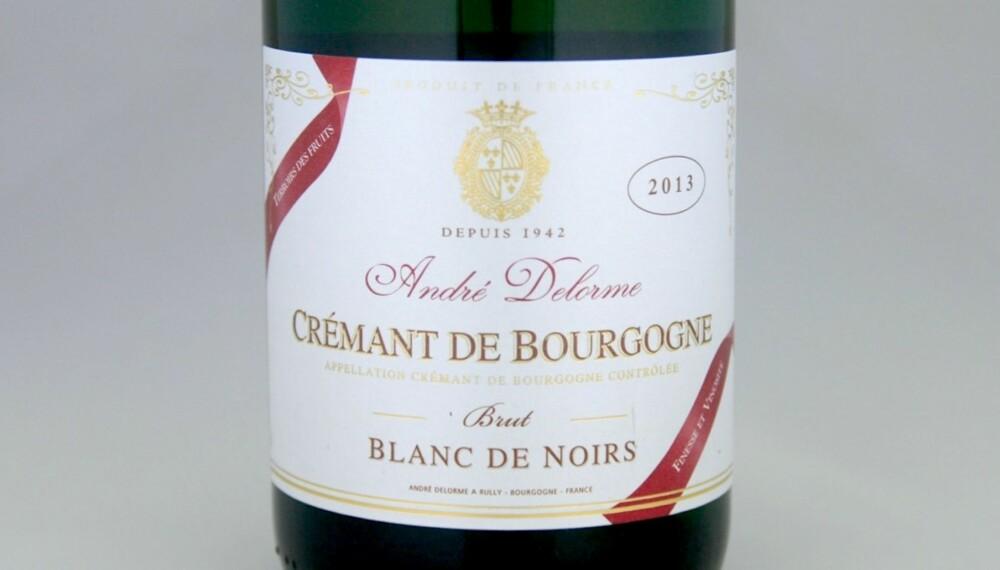 GODE BOBLER: Delorme Crémant de Bourgogne Blanc de Noirs Brut 2013.