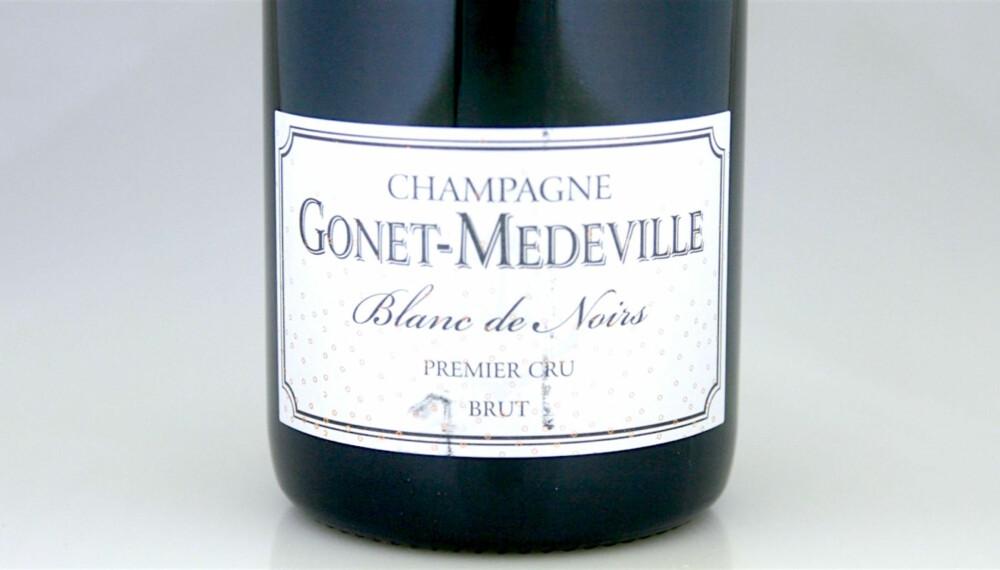 GODE BOBLER: Gonet-Medeville Premier Cru Blanc de Noirs Brut.