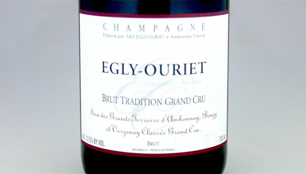 TIL KALKUN: Egly-Ouriet Brut Tradition Grand Cru.
