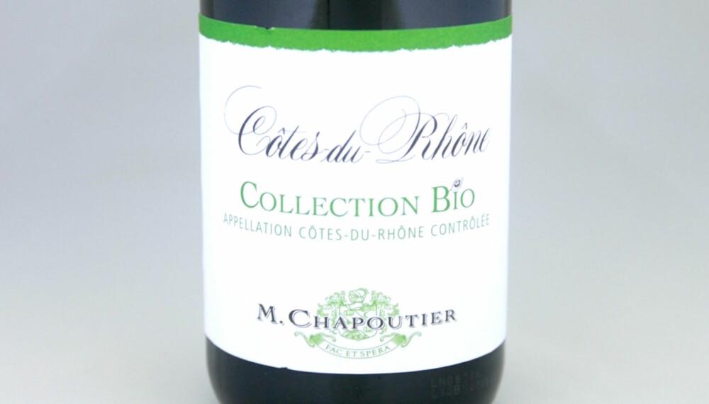 TIL KALKUN: Chapoutier Côtes-du-Rhône Collection Bio 2013.