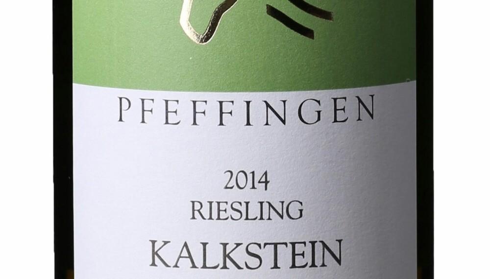 GODT KJØP: Pfeffingen Ungstein Herrenberg Kalkstein Riesling Trocken 2014.