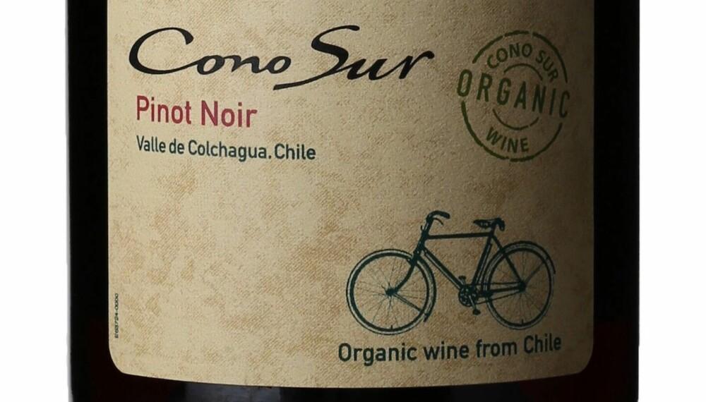 GODT KJØP: Cono Sur Organic Pinot Noir 2014.