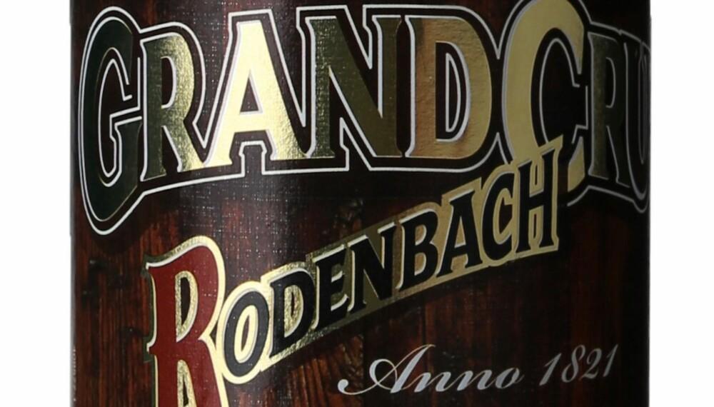 GODT ØL: Rodenbach Grand Cru.