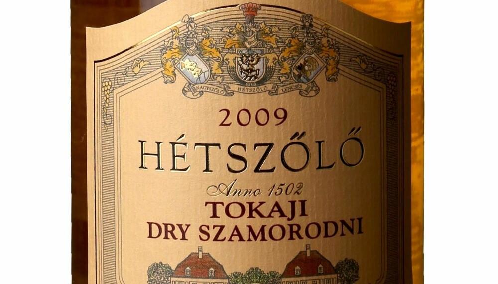 GODT KJØP: Hetzsölö Tokaji Dry Szamorodni 2009.