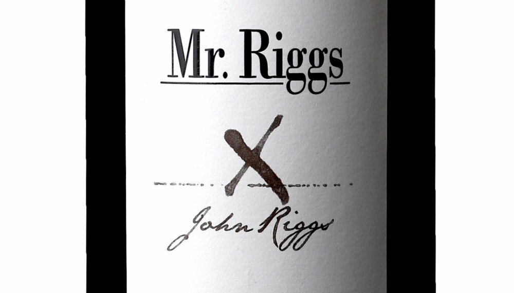 GODT KJØP: Mr. Riggs The Truant McLaren Vale Shiraz 2014.