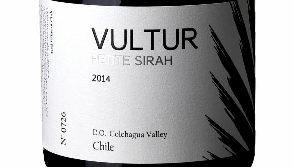 GODT KJØP: Vultur Petite Sirah 2014.