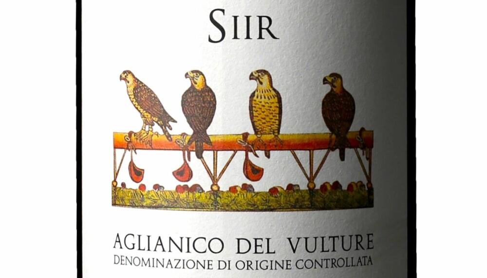 GODT KJØP: San Martino Siir Aglianico del Vulture 2013.