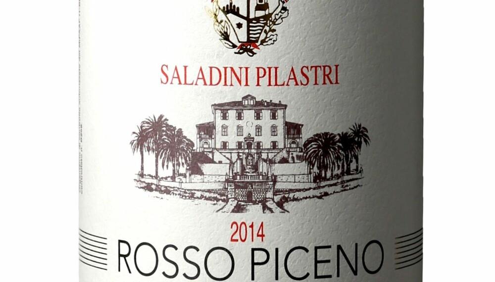 GODT KJØP: Saladini Pilastri Rosso Piceno Superiore 2014.