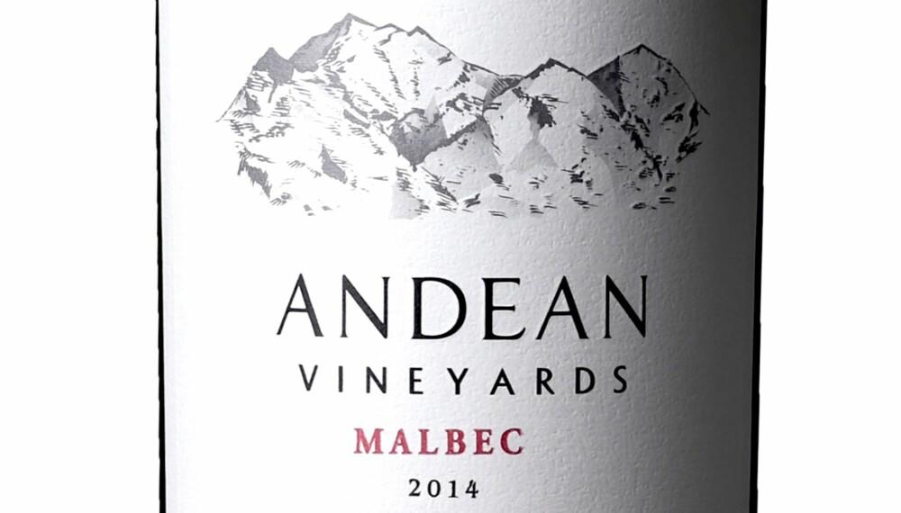 GODT KJØP: Andean Malbec 2014.