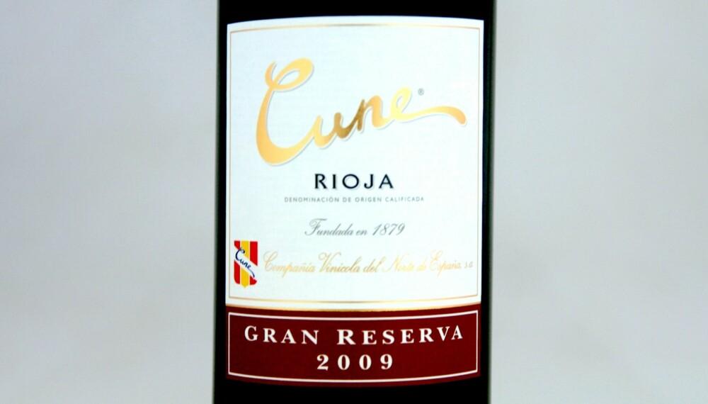 LAMMEVIN: Cune Rioja Gran Reserva 2009.