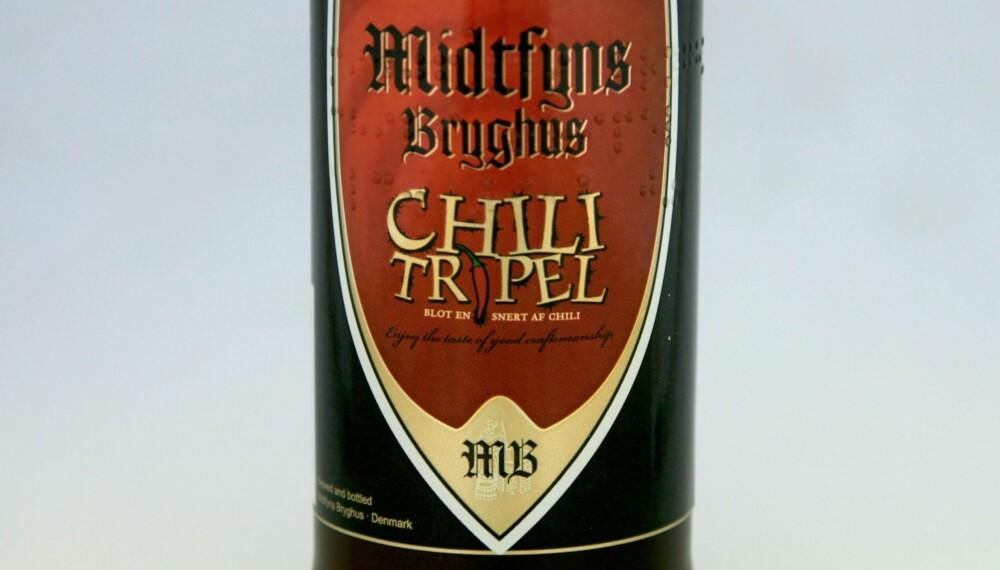 ARTIG: Midtfyns Chili Tripel.