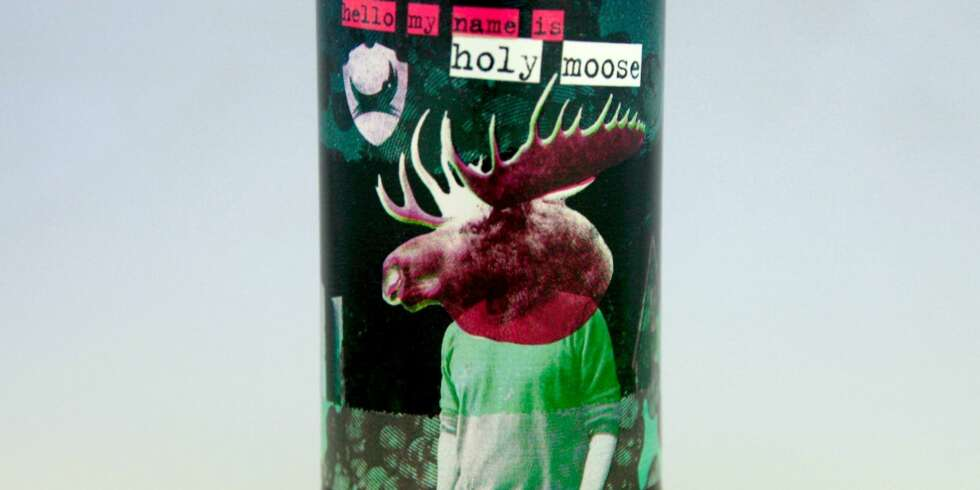 ARTIG: Brewdog Hello My Name is Holy Moose.