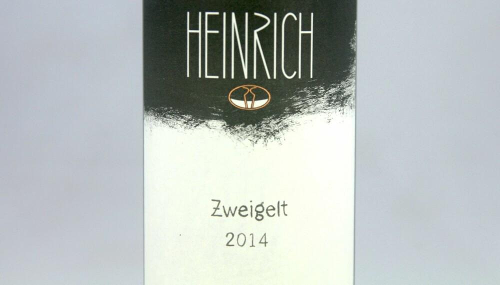 GODT KJØP: Heinrich Zweigelt 2014.