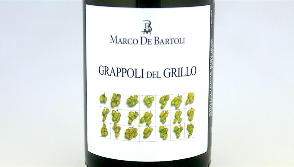 GOD VIN: Marco de Bartoli Grappoli del Grillo 2014.