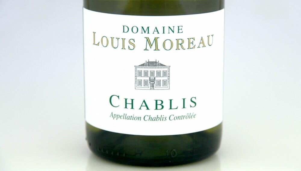 GOD VIN: Louis Moreau Chablis 2015.
