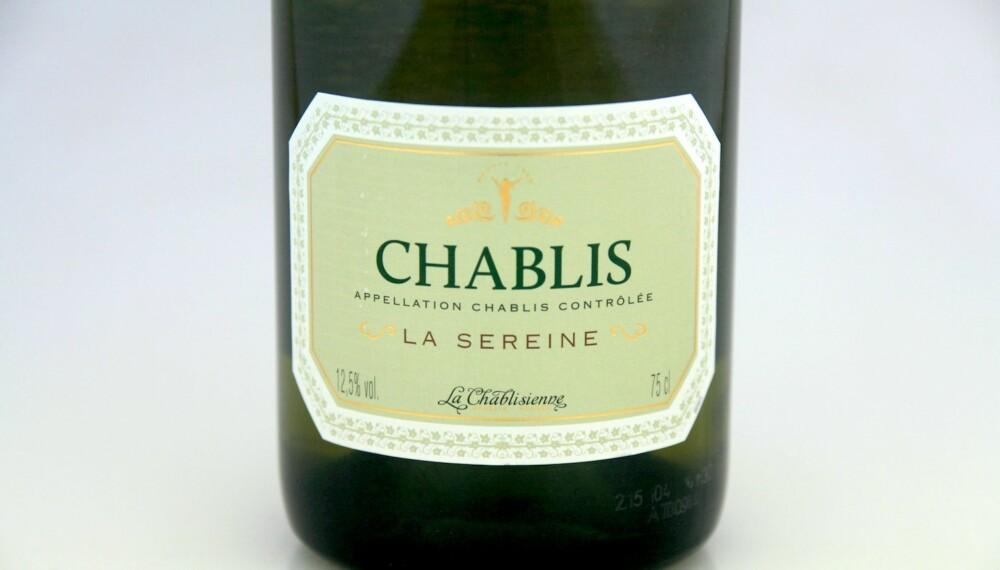 GOD VIN: La Chablisienne Chablis Cuvée La Sereine 2013.