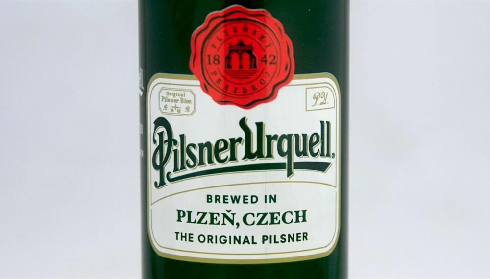 SOMMERØL: Pilsner Urquell.
