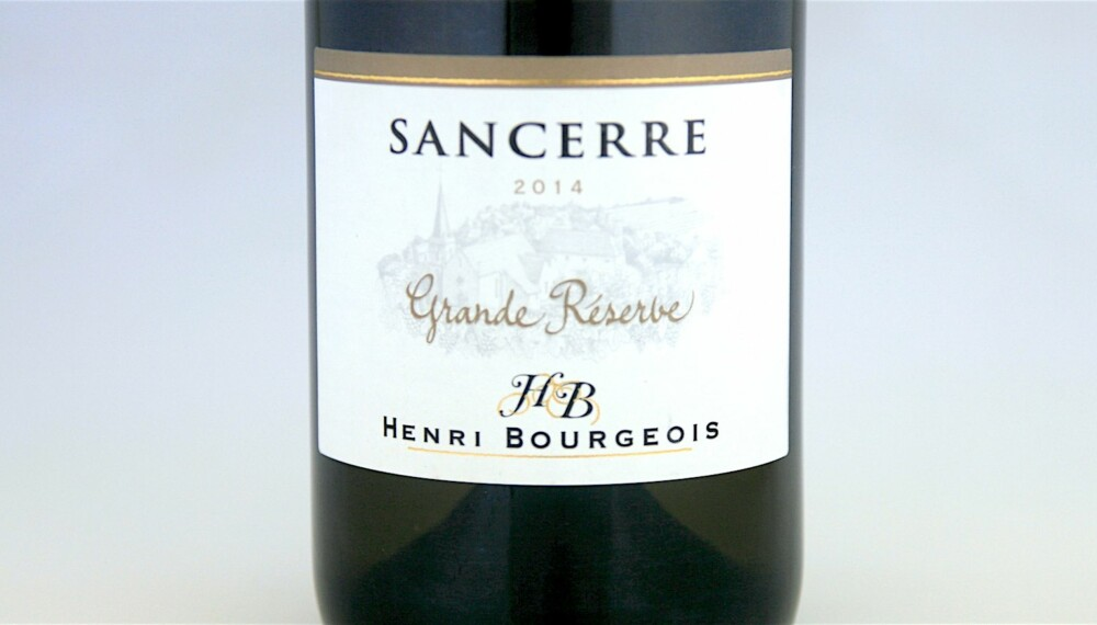 GOD VIN: Bourgeois Sancerre Grande Réserve 2014.