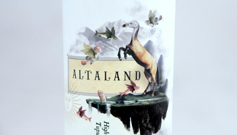 GOD GRILLVIN: Altaland High Altitude Malbec Tupungato 2013.