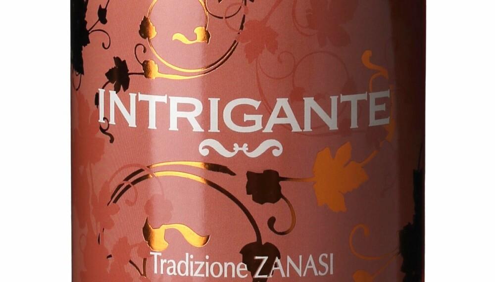 GODT KJØP: Zanasi Intrigante Lambrusco Frizzante Rosé 2015.